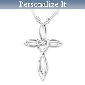 Infinite Blessings Personalized Pendant Necklace