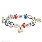 Go Bills! #1 Fan Charm Bracelet