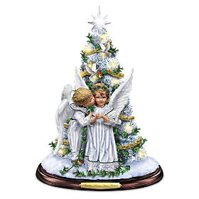 Mistletoe Kisses From Heaven Tabletop Tree