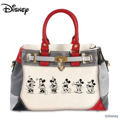 Disney Mickey And Minnie Love Story Handbag  sc 1 st  Bradford Exchange & Disney Collectibles - Bradford Exchange