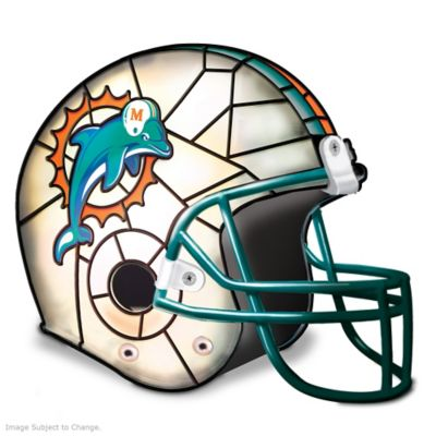 Miami Dolphins Football Helmet Accent Lamp by
