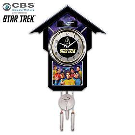 STAR TREK Cuckoo Clock