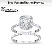 A Love Like No Other Personalized Bridal Ring Set