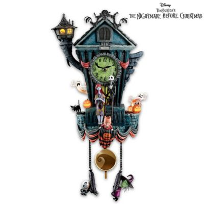 the nightmare before christmas cuckoo clock - Jack Skellington Christmas Tree