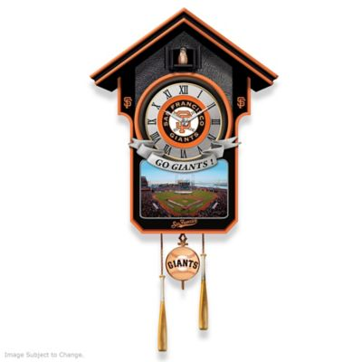 San Francisco Giants Tribute Wall Clock by