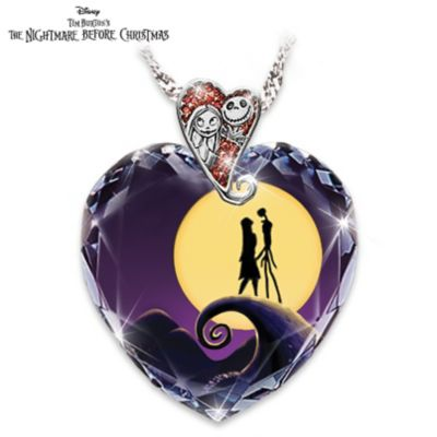 Tim burtons the nightmare before christmas pendant necklace aloadofball Image collections