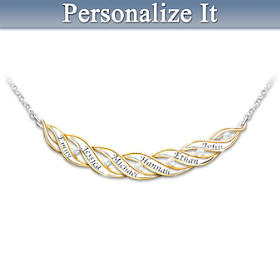 Family, A Love Like No Other Personalized Diamond Necklace