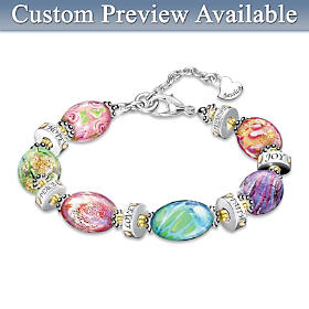 Daughter I Wish You Personalized Bracelet