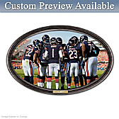 Going The Distance Chicago Bears Personalized Wall Decor