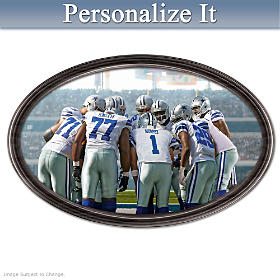 Going The Distance Dallas Cowboys Personalized Wall Decor