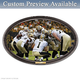 Going The Distance Saints Personalized Wall Decor