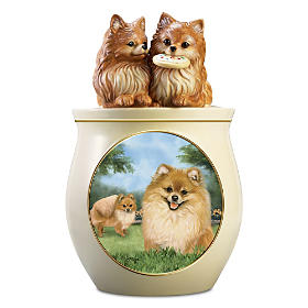 Cookie Capers: The Pomeranian Cookie Jar