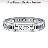 Optimum Personalized Men's Bracelet