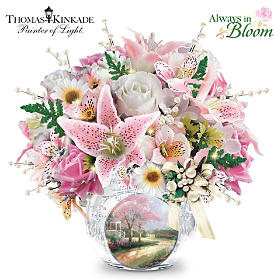 Thomas Kinkade Treasured Moments Table Centerpiece