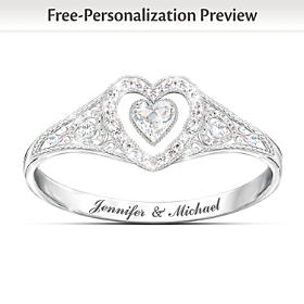 Our Timeless Love Personalized Ring