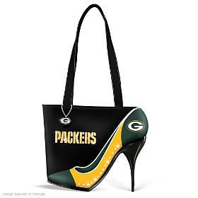 Kick Up Your Heels Packers Handbag