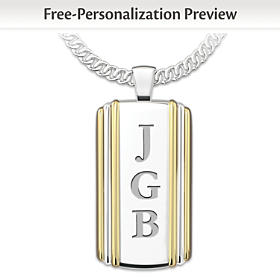 Always My Son Personalized Pendant Necklace