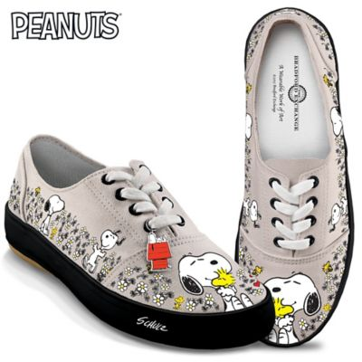 b77109c92e PEANUTS Happiness Is Friendship Womens Shoes With PEANUTS Characters ...