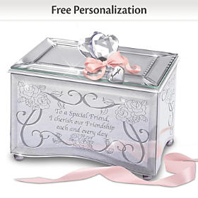 Reflections Of A Special Friend Personalized Music Box