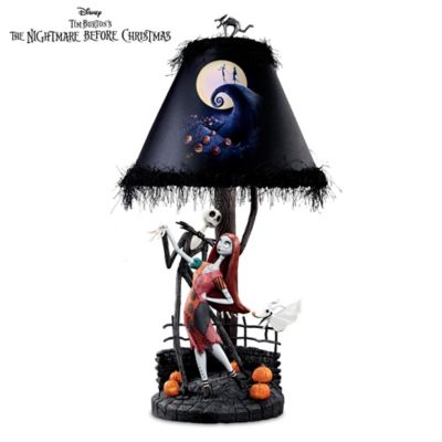 Tim Burton's The Nightmare Before Christmas Moonlight Lamp by