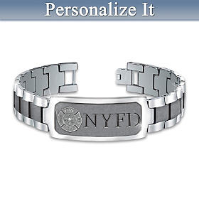 Duty, Honor & Courage Personalized Bracelet