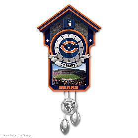 Chicago Bears Cuckoo Clock
