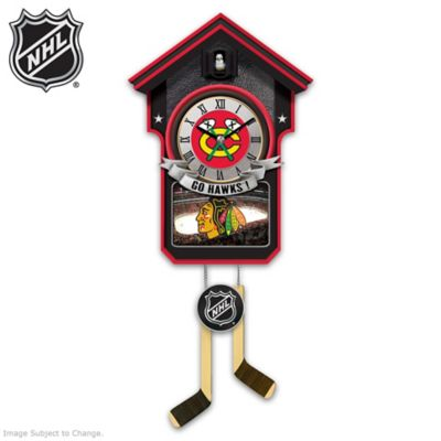 Chicago Blackhawks® Tribute Wall Clock by