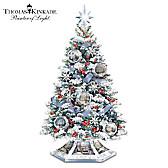 Thomas Kinkade Reflections Of The Season Tabletop Tree