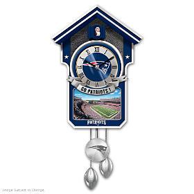 New England Patriots Cuckoo Clock