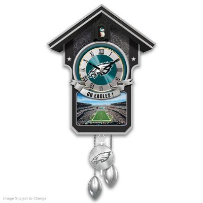 Philadelphia Eagles Tribute Wall Clock by
