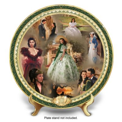 Gone With The Wind Masterpiece Edition Collector Plate by