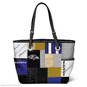 For The Love Of The Game Baltimore Ravens Tote Bag