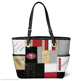 For The Love Of The Game San Francisco 49ers Tote Bag