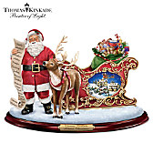 Thomas Kinkade Almost Christmas Sculpture