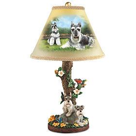Sweet Schnauzers Lamp