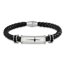Protection And Strength For My Grandson Men's Bracelet