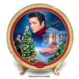 Merry Christmas From Graceland Collector Plate