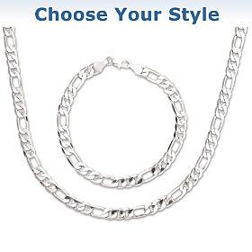 The Connoisseur Necklace And Bracelet Set