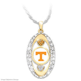 For The Love Of The Game Volunteers Pendant Necklace