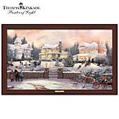 Thomas Kinkade A Victorian Holiday Wall Decor