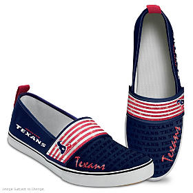 Steppin' Out With Pride Texans Women's Shoes