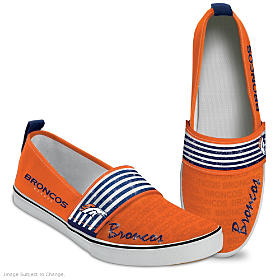 Steppin' Out With Pride Broncos Women's Shoes
