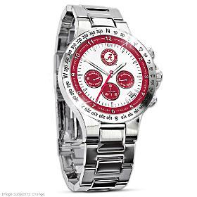 Alabama Crimson Tide Men's Collector's Watch