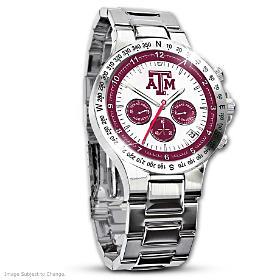 Texas A&M Aggies Men's Collector's Watch