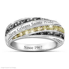Saints In Vogue Ring