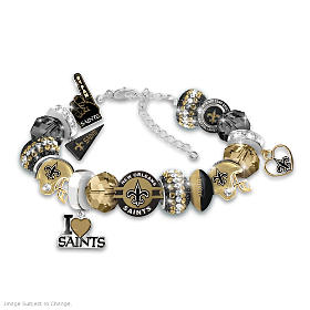 Fashionable Fan Saints Bracelet