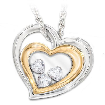 'Window To My Heart' Pendant By The Bradford Exchange D3mhvL648