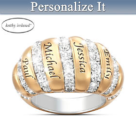 kathy ireland A Mother's Love Personalized Ring