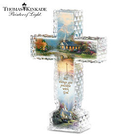 Thomas Kinkade Inspirations Of Hope Cross