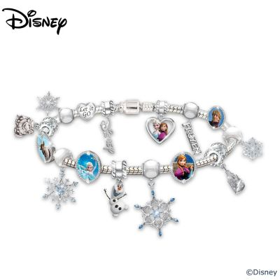 Disney FROZEN Heirloom Beaded Charm Bracelet by